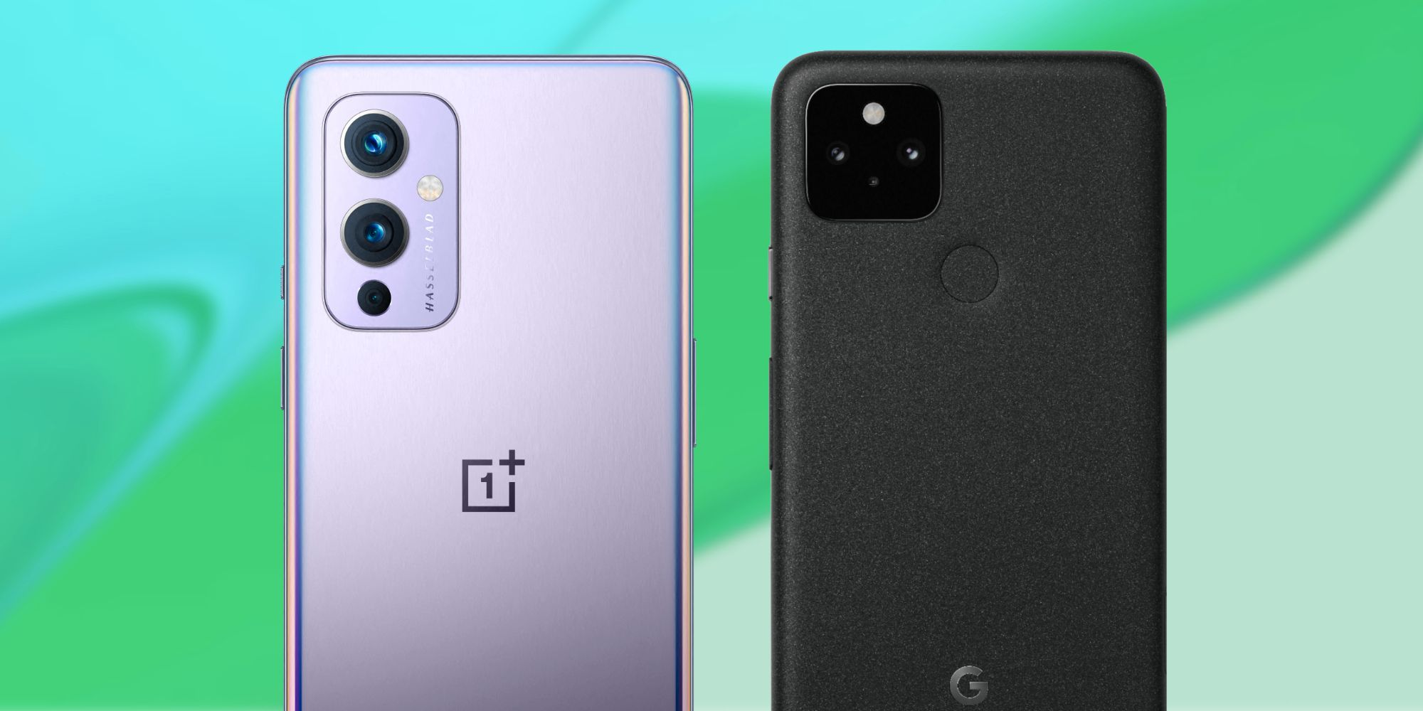 OnePlus 9 vs Google Pixel 5: competing with top smartphones in very different ways