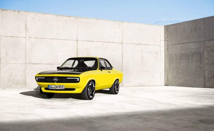 Electric Opel Manta GSe Is a One-Off Restomod of a Cult Favorite
