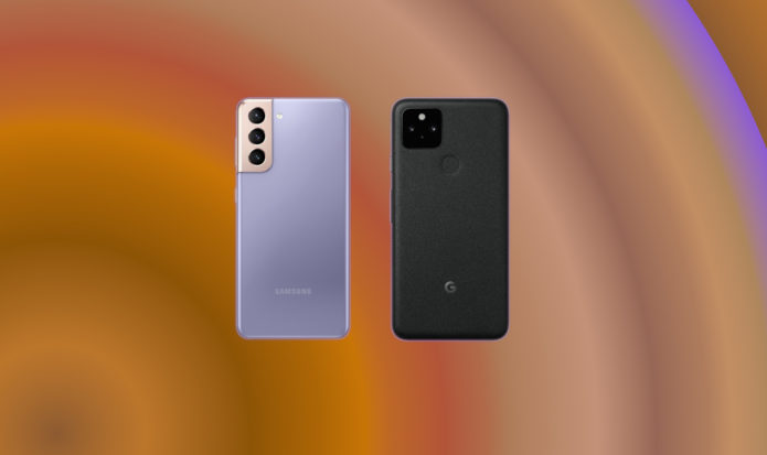 Samsung Galaxy S21 vs Google Pixel 5: pay less for your flagship Android phone