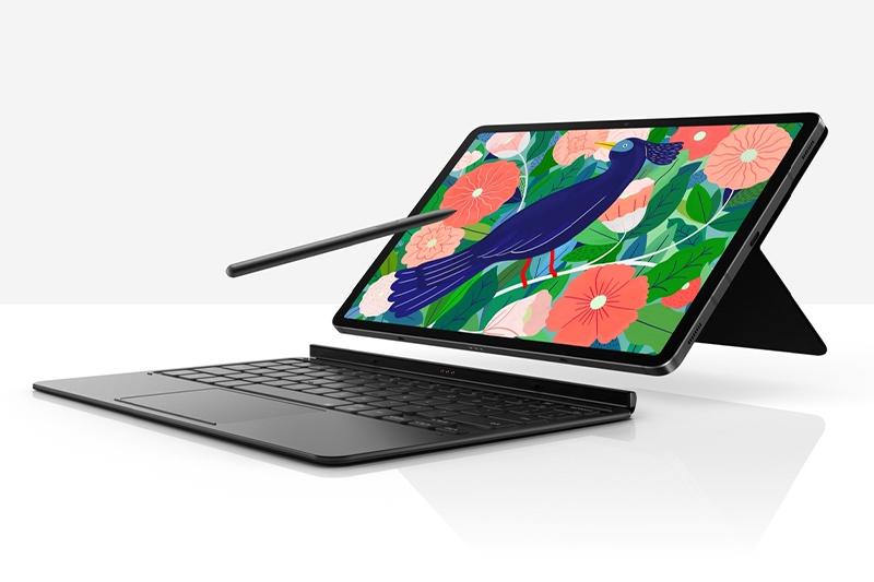 "Samsung Galaxy Tab S7 FE 12.4"" tablet unveiled with 5G, cheaper Galaxy Tab A7 Lite follows"
