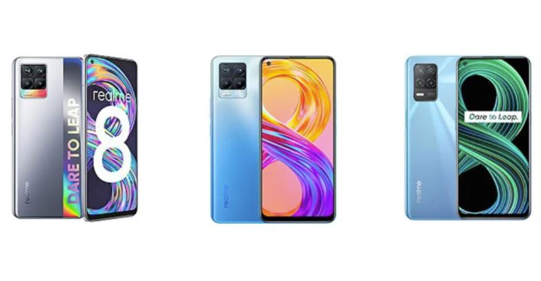 Realme 8 5G vs Realme 8 vs Realme 8 Pro: Price in India, Specifications Compared