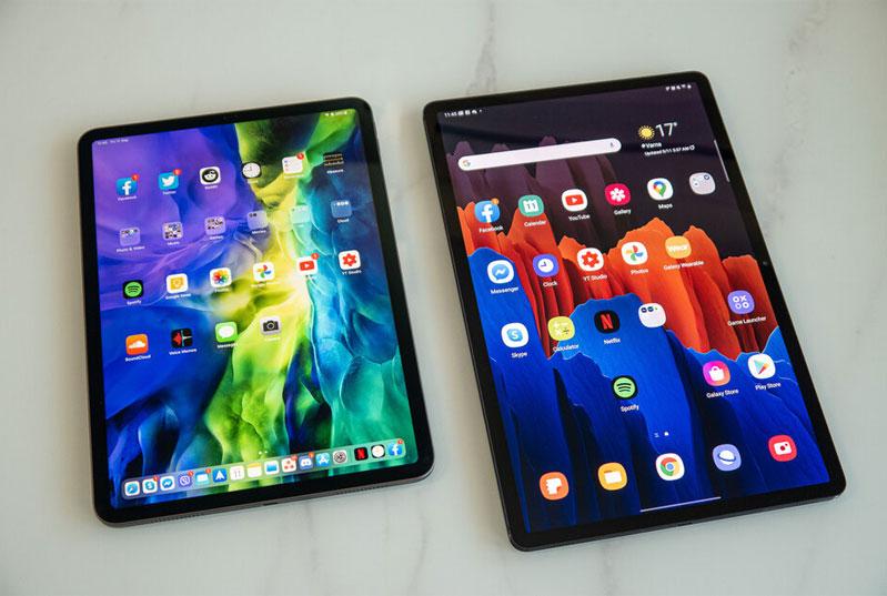 "Samsung Galaxy Tab S7 Plus vs. Apple iPad Pro 12.9"": which should you buy?"