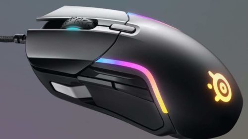 SteelSeries Rival 5 budget gaming mouse packs custom keys and RGB