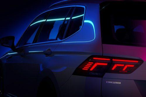 New Volkswagen Tiguan Allspace teased