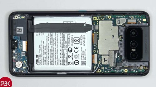 ASUS ZenFone 8 Flip teardown can be quite a chore
