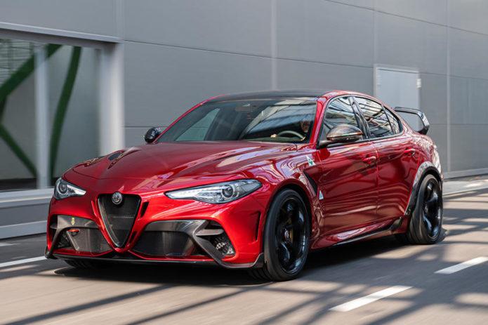 2021 Alfa Romeo Giulia Sport