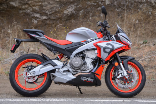 2021 Aprilia Tuono 660 Review (15 Fast Facts From The Canyons)