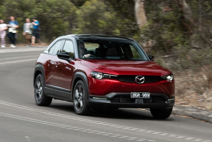 2021 Mazda MX-30 Evolve M Hybrid