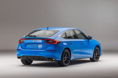 2022 Honda Civic Hatchback Looks Great and Offers a Manual