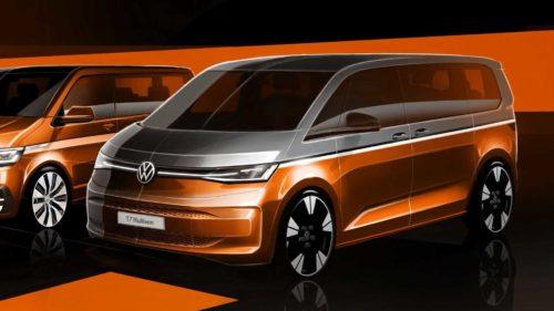 2022 Volkswagen Multivan T7 Debuts Today: See The Livestream