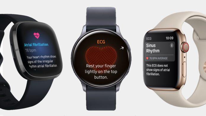 ECG smartwatches