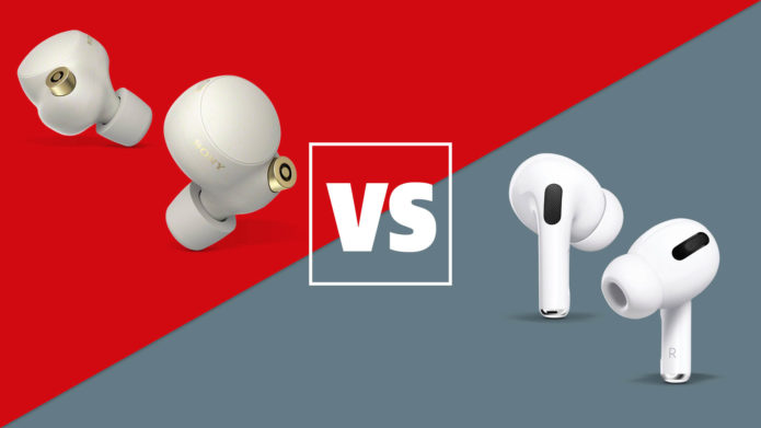 Sony WF-1000XM4 vs Apple AirPods Pro
