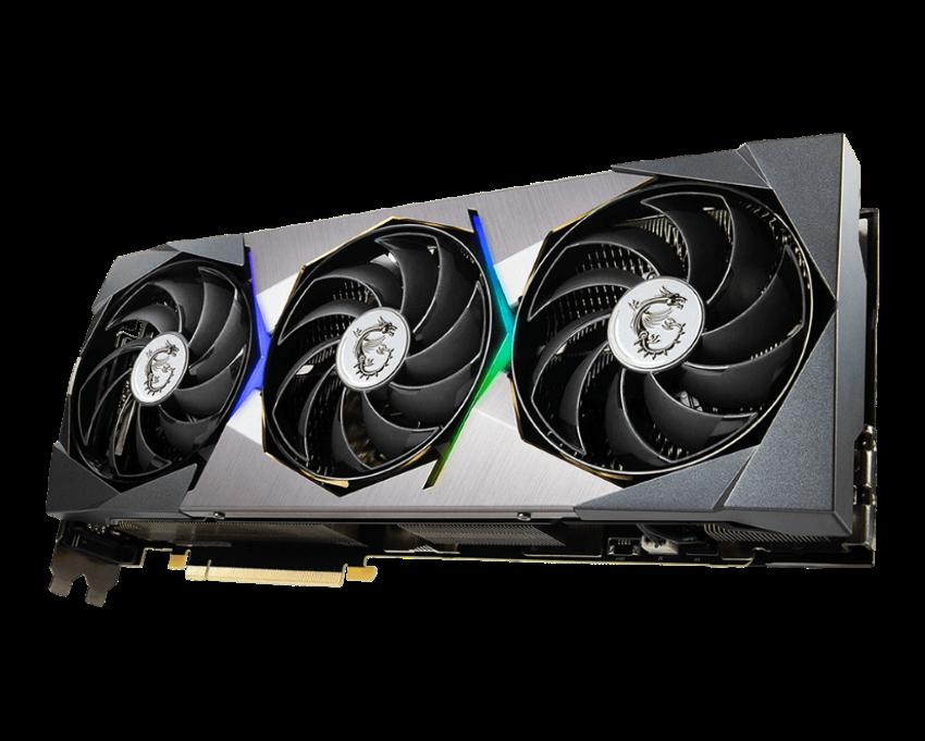 MSI RTX 3090 Suprim GPU