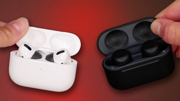 AirPods Pro vs. Echo Buds 2