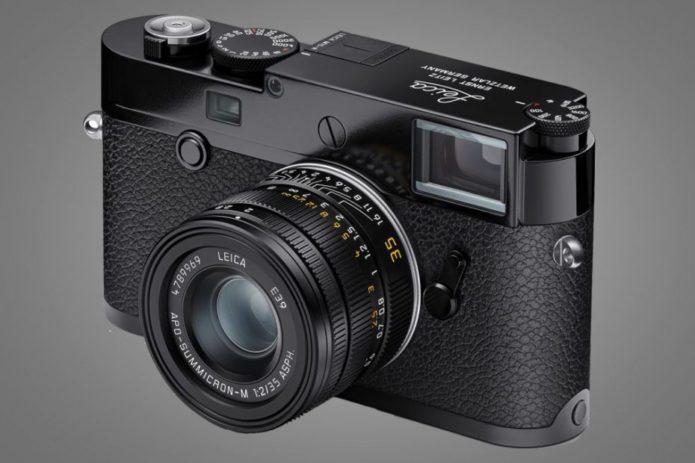 Leica M-10R Black Paint