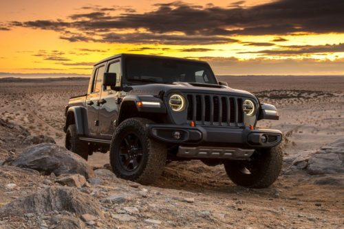 Ford May Be Benchmarking the Jeep Gladiator Mojave for a Bronco Pickup