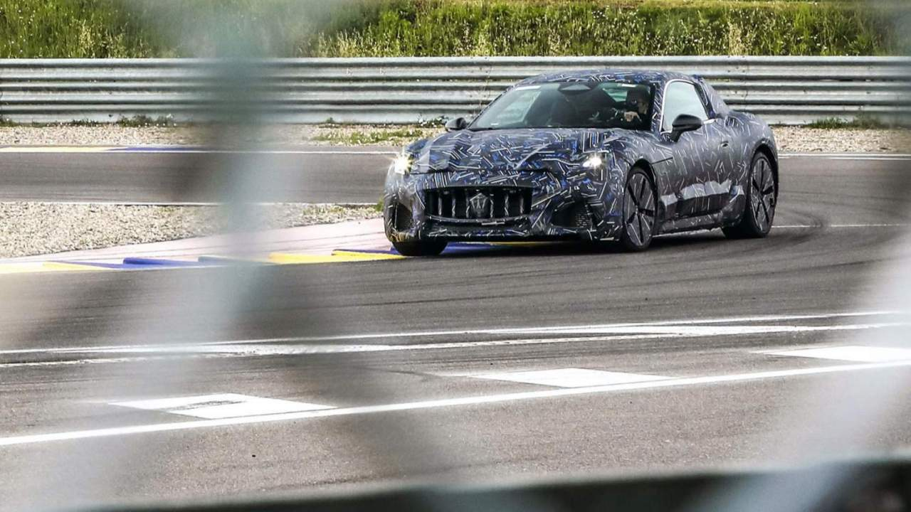 Maserati GranTurismo EV