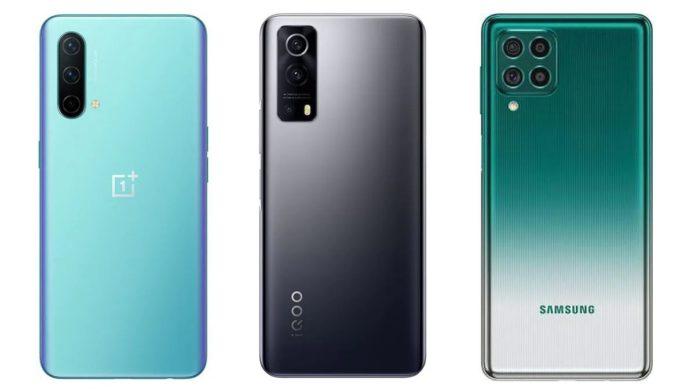 OnePlus Nord CE 5G vs iQoo Z3 vs Samsung Galaxy F62