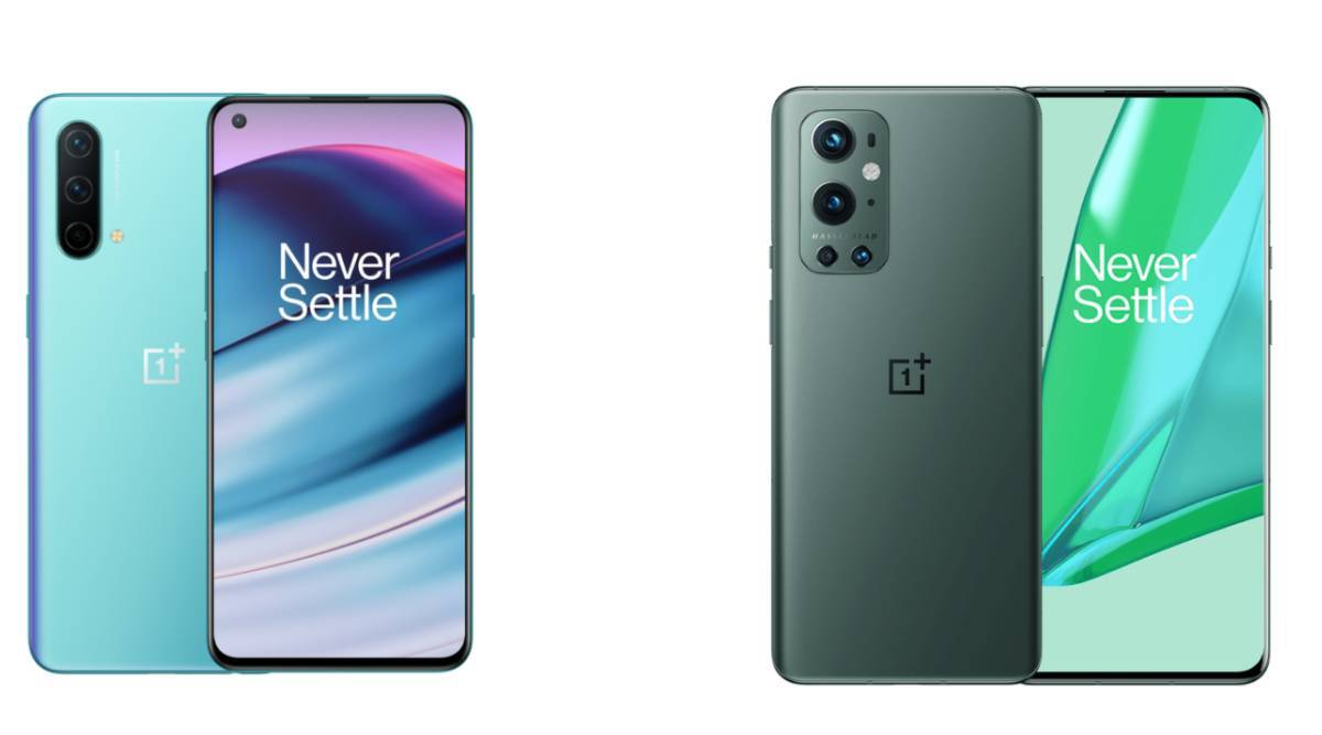 OnePlus Nord CE 5G to OnePlus 9 Pro 5G