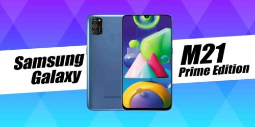 Samsung Galaxy M21 Prime Edition spotted on Google Play, BIS, and Samsung website