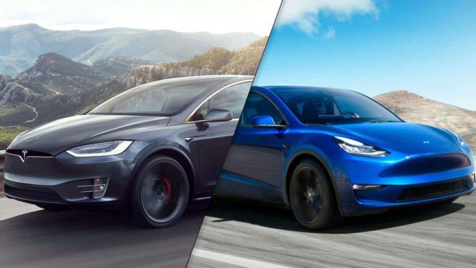 Tesla Model X vs. Tesla Model Y