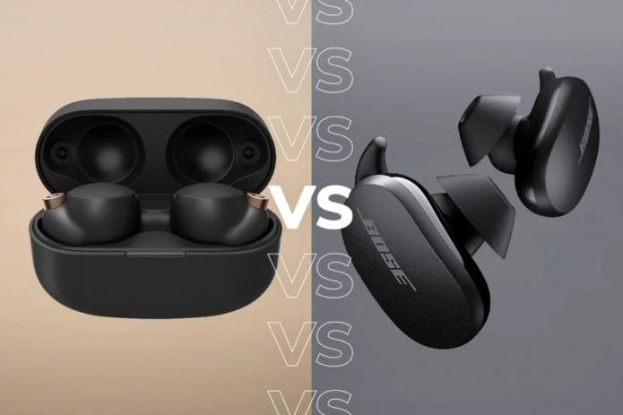 Sony WF-1000XM4 vs Bose QuietComfort Earbuds