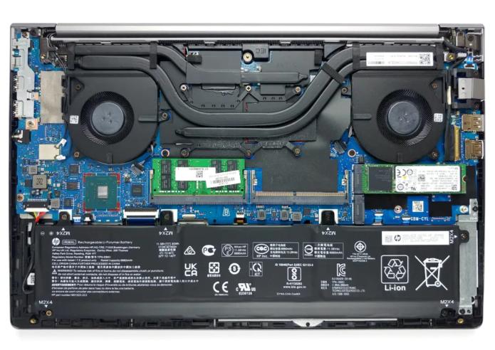 Inside HP ZBook Power G7