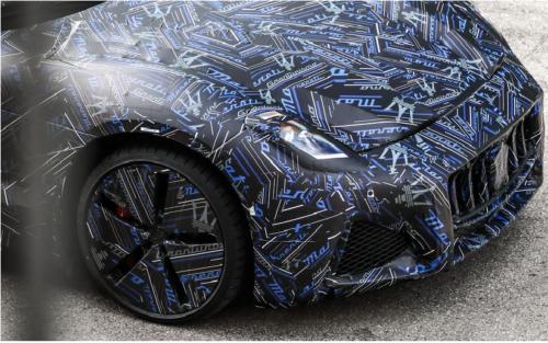 Next Maserati GranTurismo Coupe Shown in Prototype Form