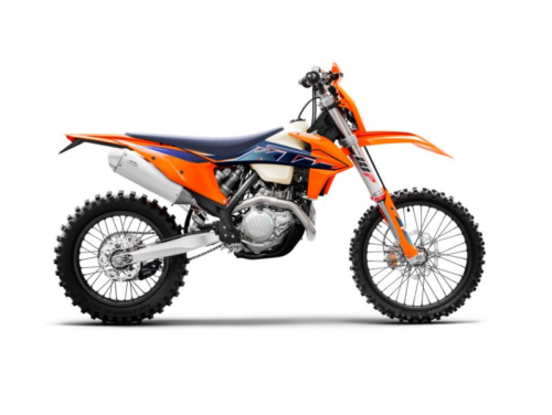 2022 KTM XCF-W Lineup First Look: High-End 500 and 350 Trailbikes