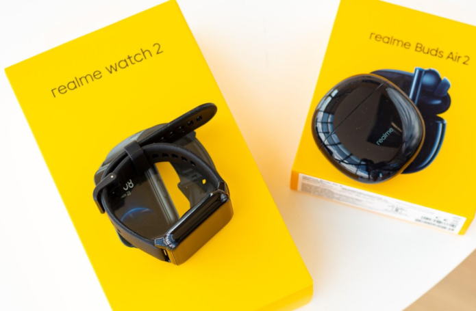 Realme Watch 2 and Buds Air 2
