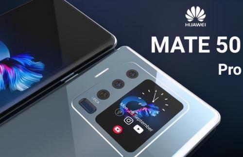 Huawei Mate 50 Pro Rendering: 200 Megapixels, Snapdragon 888
