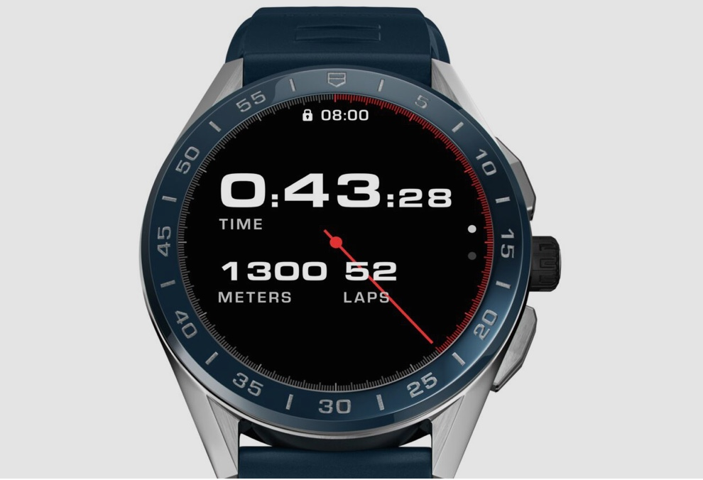 Tag Heuer adds new swimming and running features