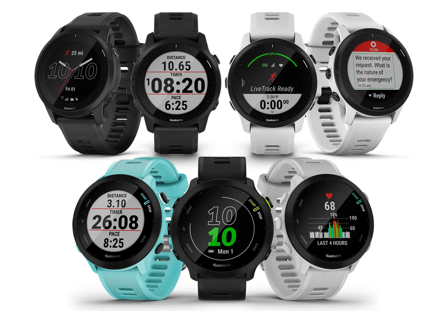 Garmin Forerunner 55 and new 945 LTE watch