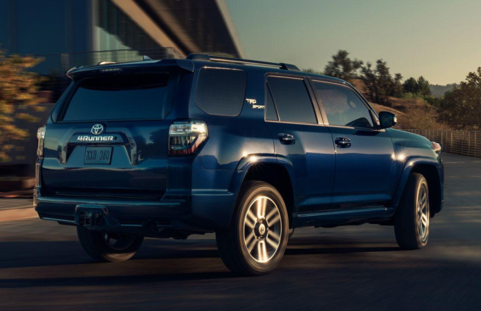 2022 Toyota 4Runner TRD Sport Gives the SUV More Street Cred