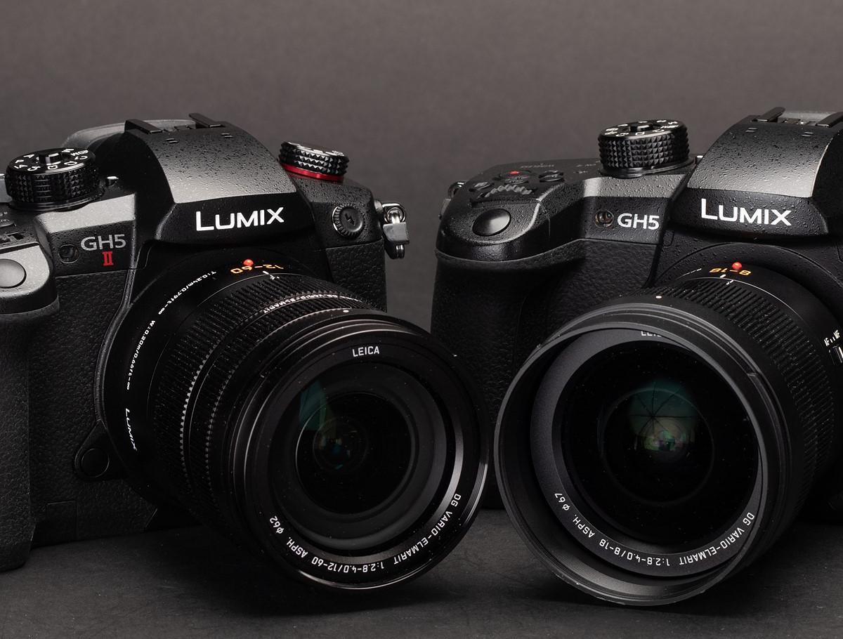 Panasonic Lumix DC-GH5 versus GH5 II