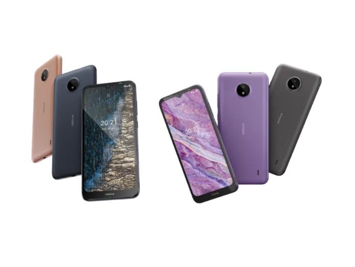 Nokia C20, C10