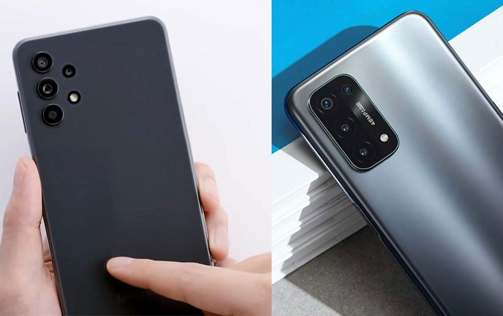 Samsung A32 5G vs. OPPO A74 5G
