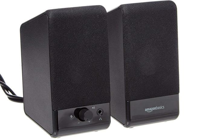 Amazon Basics Computer Speakers (USB-powered)
