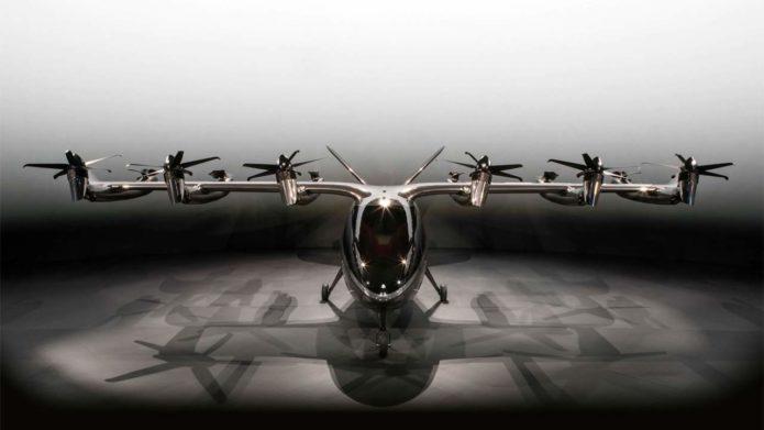 eVTOL aircraft