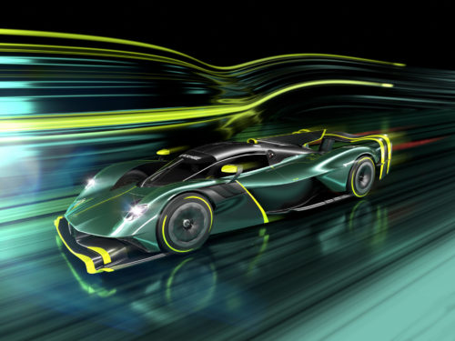 Aston Martin Valkyrie AMR Pro Breaks Cover With 1,000 Horsepower