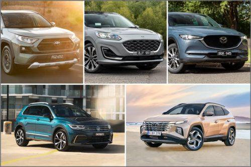 12 of Australia's top-selling mid-size SUVs Comparison : Best Mid-Size SUV 2021
