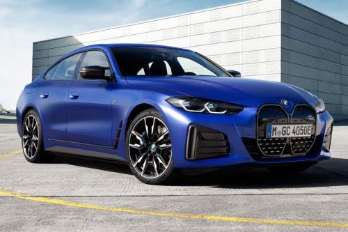 First M electric car headlines BMW i4 range