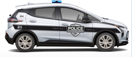 Chevrolet Bolt EUV and Bolt EV police packages are available for 2022