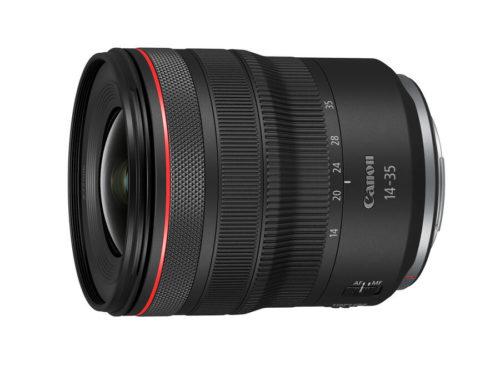 Canon Unveils RF 14-35mm f/4L IS USM Lens