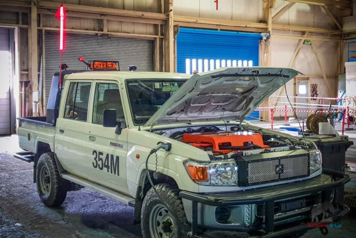Toyota LandCruiser EV
