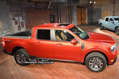 Ford Maverick hybrid confirmed
