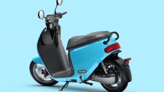 Gogoro e-scooters