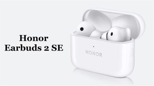 The Honor Earbuds 2 SE has ANC, fast charge, and a 32-hour battery life