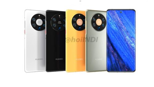 Huawei Mate 50 Could Have an Arc Display With a Built-In Camera