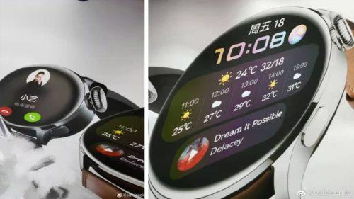 Huawei Watch 3 Series Renderings Exposed, Coming Today